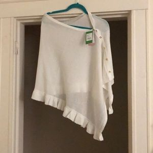 White Lilly Pulitzer sweater